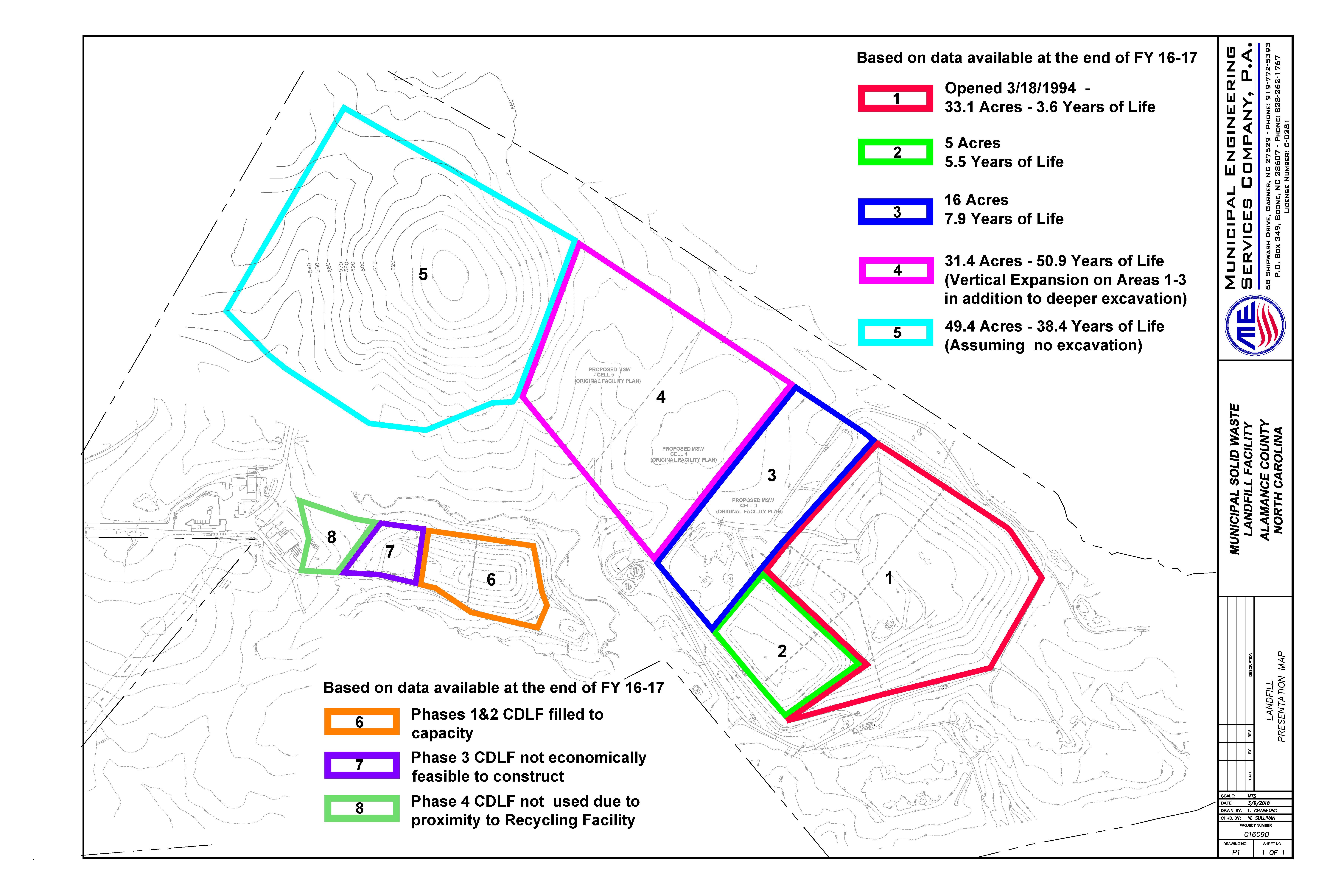 Map - Austin Quarter Landfill - 2017 Facility Map