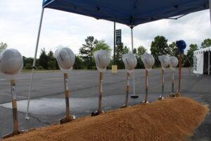 BCOE Groundbreaking Shovels