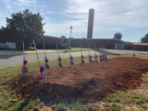 ABSS Southern HS Groundbreaking- Shovels